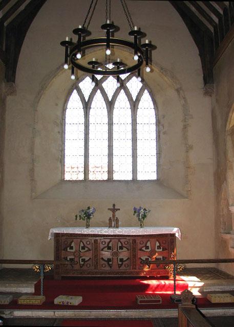 All Saints church - the sanctuary