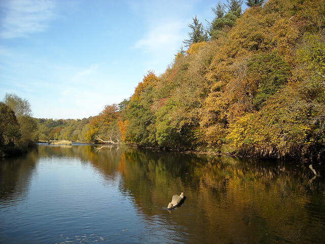 Autumn Colours and River Clyde
