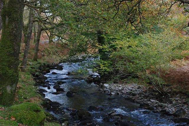 The Afon Artro near Crafnant