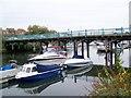 SZ1492 : River Stour and Tuckton Bridge by Maigheach-gheal