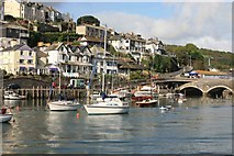 SX2553 : Looe Harbour by roger geach