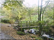 NY2822 : Footbridge, Brockle Beck by Michael Graham