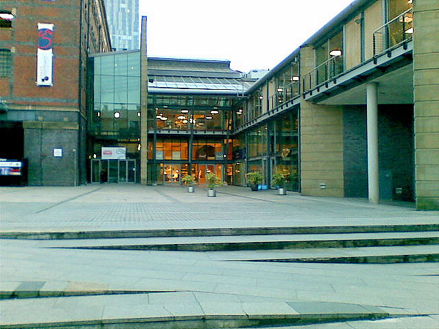 A corner of Great Northern Square, Manchester
