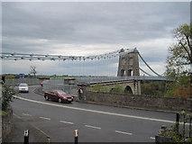 SH5571 : Menai Suspension Bridge by John Firth