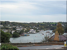 SH5571 : View up Menai Straits from  The Antelope by John Firth