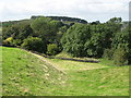 NY6366 : The north defensive ditch of Hadrian's Wall in Gilsland by Mike Quinn