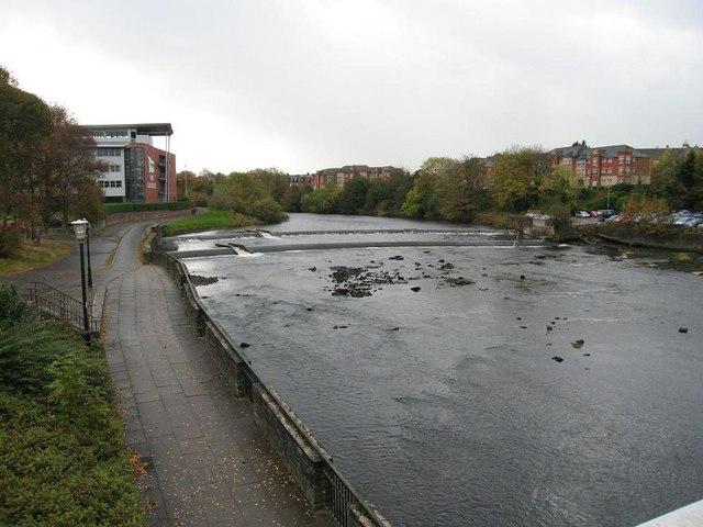 Weir on the River Ayr