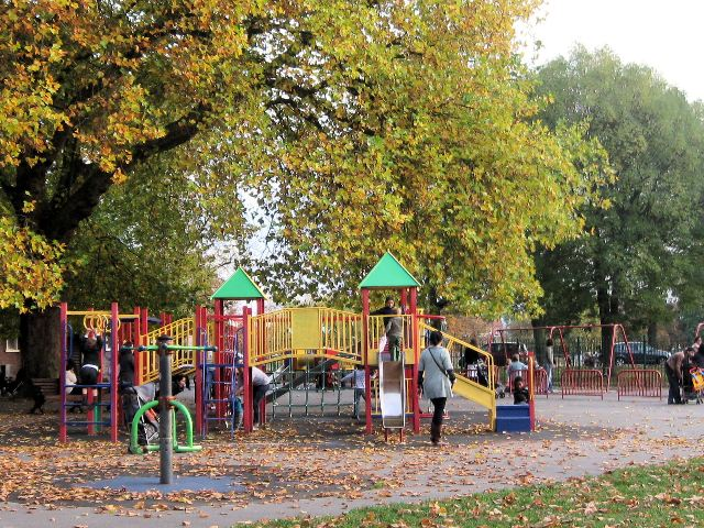 Children's Playground on Clapham Common