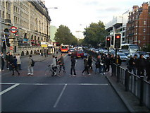 TQ2882 : Marylebone Road from Baker Street. by Colin Pyle