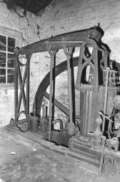 Beam engine, Wrotham Park Estate Workshops