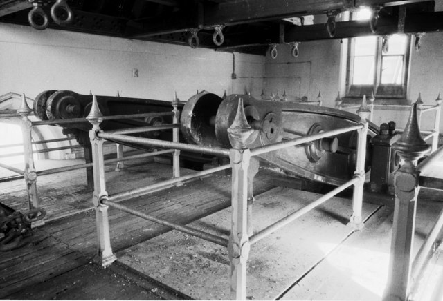 Beam engine parts, Snarestone Pumping Station
