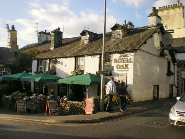 The Royal Oak, Market Place, Ambleside