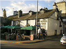 NY3704 : The Royal Oak, Market Place, Ambleside by Alexander P Kapp