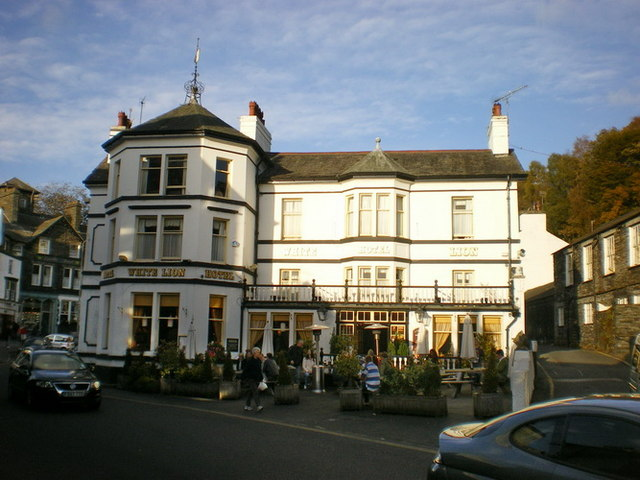 The White Lion, Market Place, Ambleside