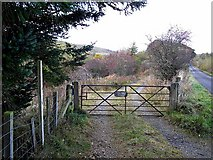 NS7508 : Gateway to Euchan Cottage by Oliver Dixon