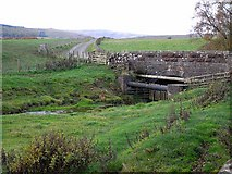NS7609 : Bridge over the Barr Burn by Oliver Dixon