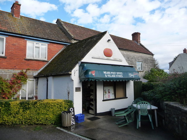 Meare: the post office/stores
