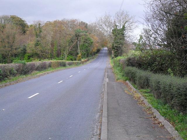 Belfast Road at Tullyhubbert
