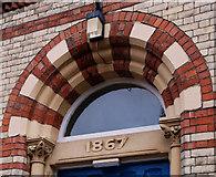 J3373 : Shaftesbury Square Hospital, Belfast (2) by Albert Bridge