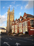 SX4855 : St Matthias Church in North Hill by Rod Allday
