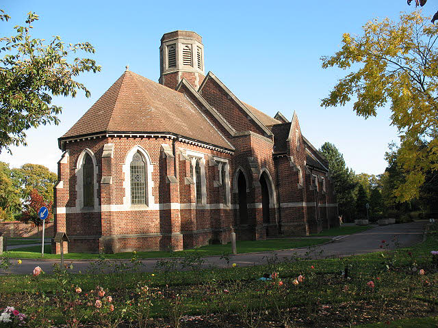 Falconwood Cemetery (5) - Chapel of Rest (west end)