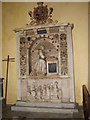 TF8921 : St Mary's church - monument to Bridget Paston-Coke (1598) by Evelyn Simak