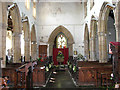 TF5914 : St Germans church - view west by Evelyn Simak