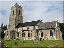 TG0826 : St Andrew's church, Wood Dalling by Evelyn Simak