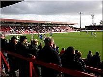SO8375 : Aggborough Stadium, Kidderminster by Roger Cornfoot