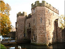 ST5545 : Wells: Bishop's Palace gatehouse by Chris Downer