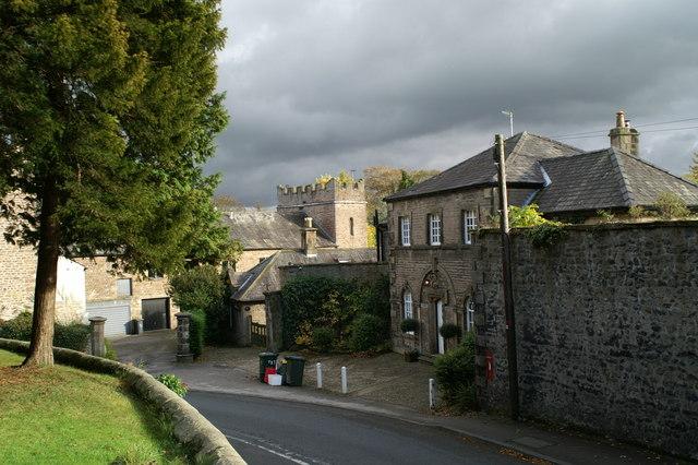 The Clock House, opposite Halton Church