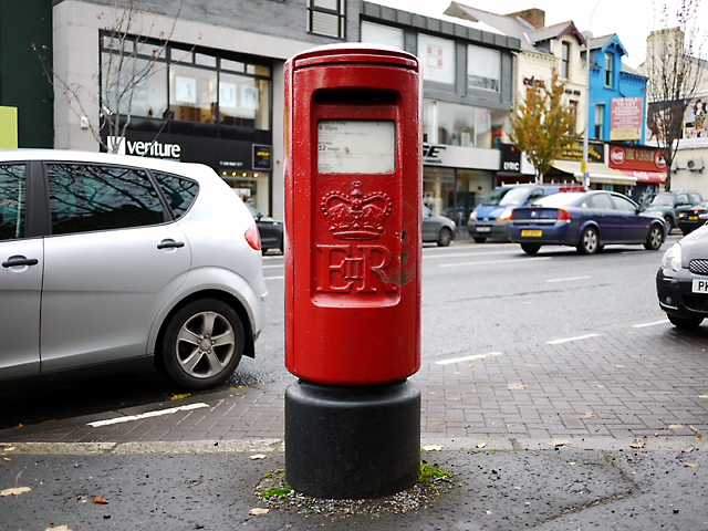 Postbox, Lisburn Road