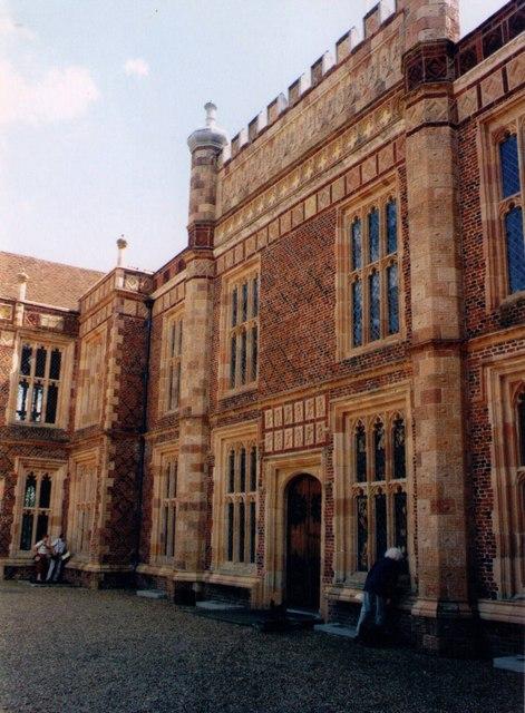 Entrance facade at Sutton Place