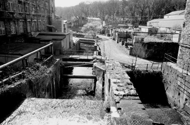 Waterwheel pits, Portlaw Tanners