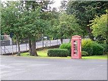 NT2540 : Telephone box, Peebles by Maigheach-gheal