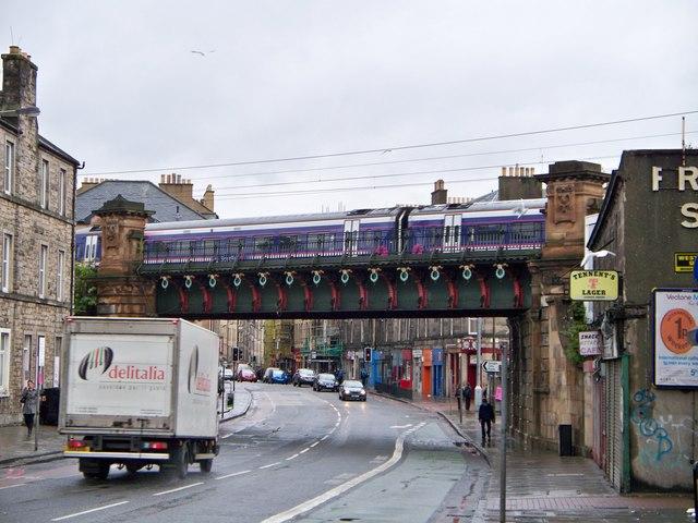 Caledonian Railway Bridge, Gorgie Road, Edinburgh