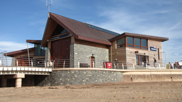 The New RNLI Lifeboat Station on Exmouth Seafront