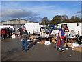 SJ5559 : Beeston Wednesday Market by Eirian Evans
