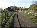 TL5779 : Track through Quanea Farm by Hugh Venables