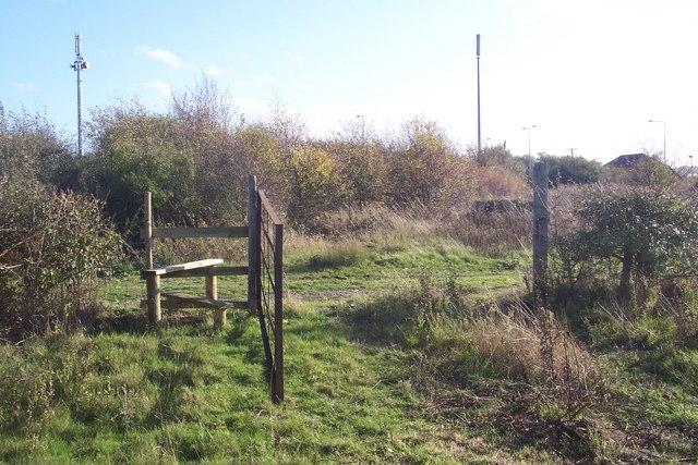Stile and Gate near Highstreet