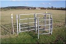 TR0863 : Kissing Gate near Brookdene Farm by David Anstiss