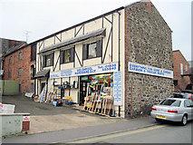 SJ2207 : Welshpool Hardware and DIY shop by John Firth