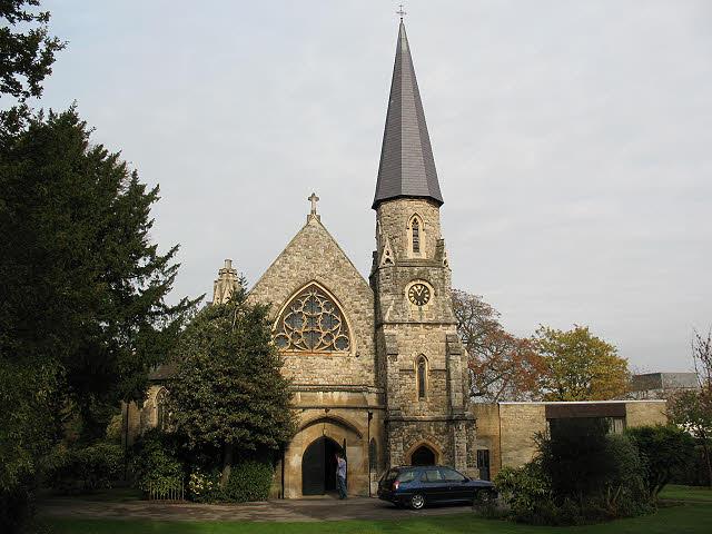 St Margaret's church, Putney: south end