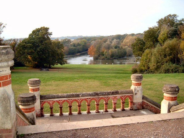 Terrace in Staunton Country Park