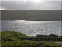 NY8029 : Sun Light on Cow green Reservoir by malcolm tebbit