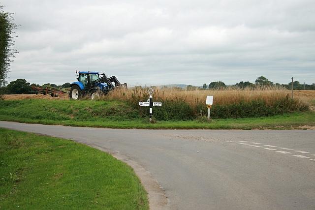 Junction of Runcton Lane and Manor Lane