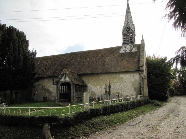 All Saints from the Bridleway