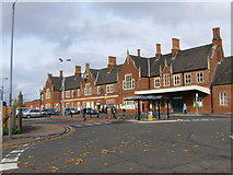 SO5140 : Hereford Railway Station by Alan Spencer