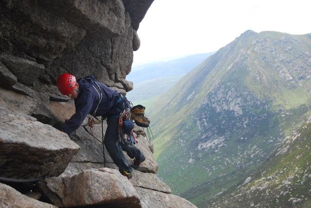 Rock Climbing on Arran
