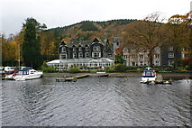 SD3787 : Lake side hotel - Windermere by STEVE NOVAK